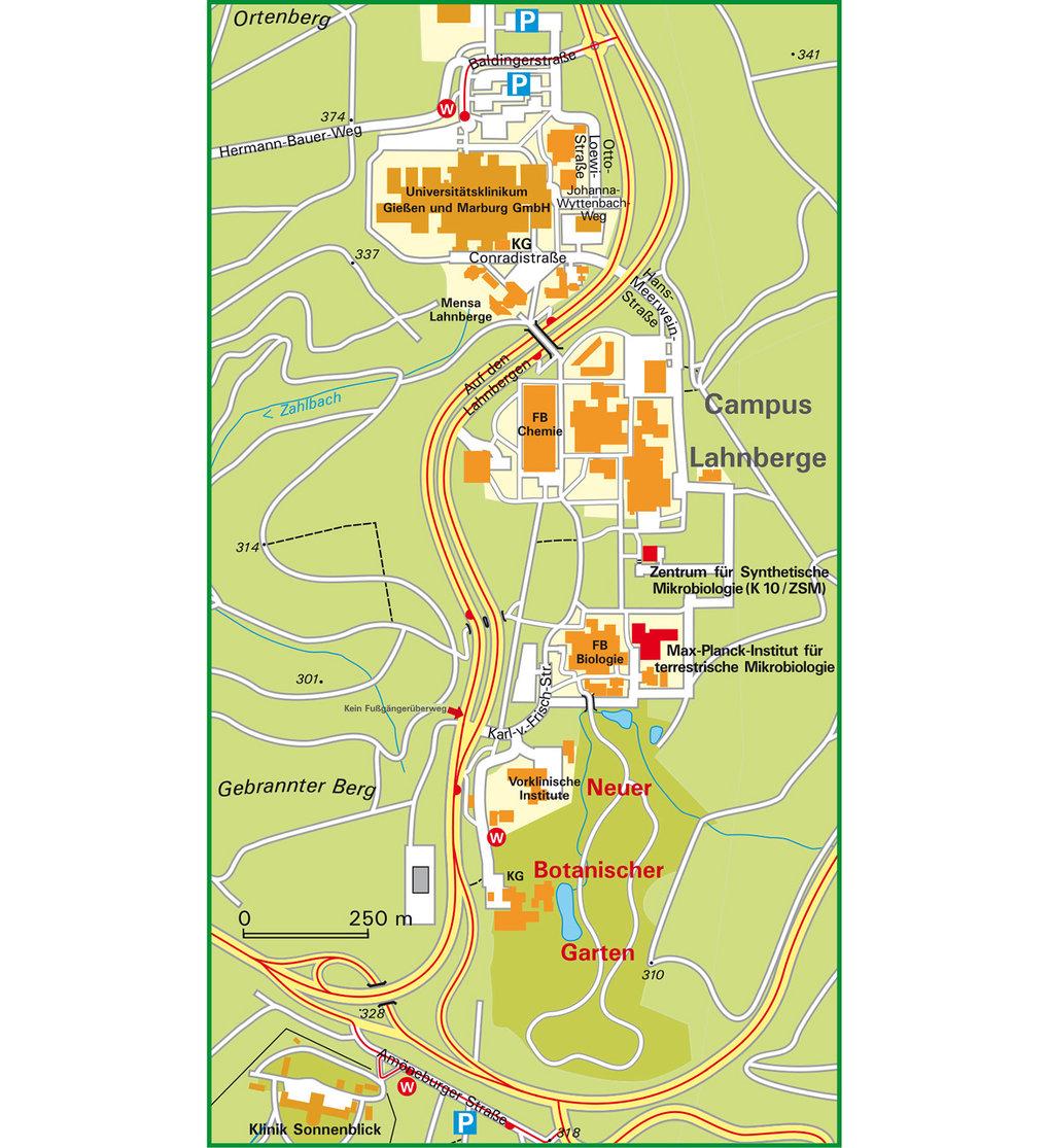 Anfahrt Max Planck Institut Für Terrestrische Mikrobiologie
