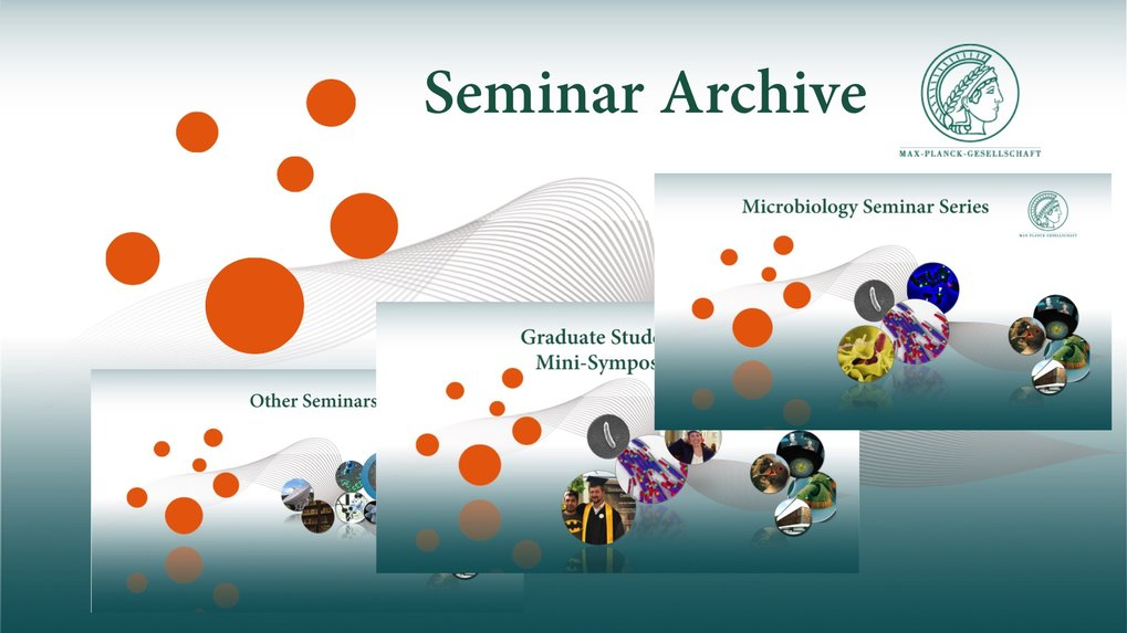 MPI for Terrestrial Microbiology - Seminar archives