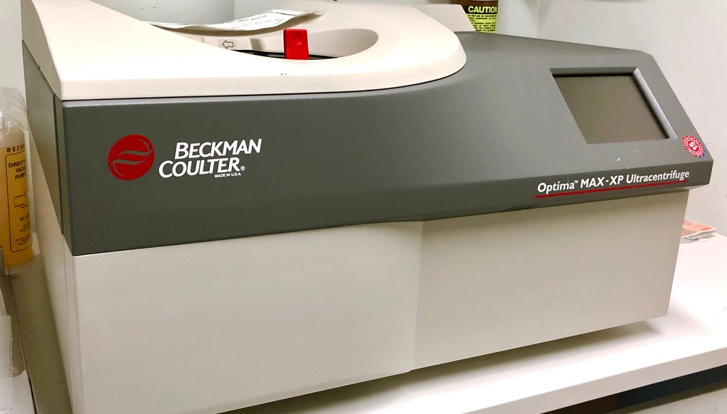<strong>Device: Optima MAX-XP Benchtop ultracentrifuge</strong>